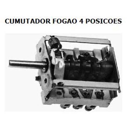 COMUTADOR 4 POSIÇÕES FOGÃO